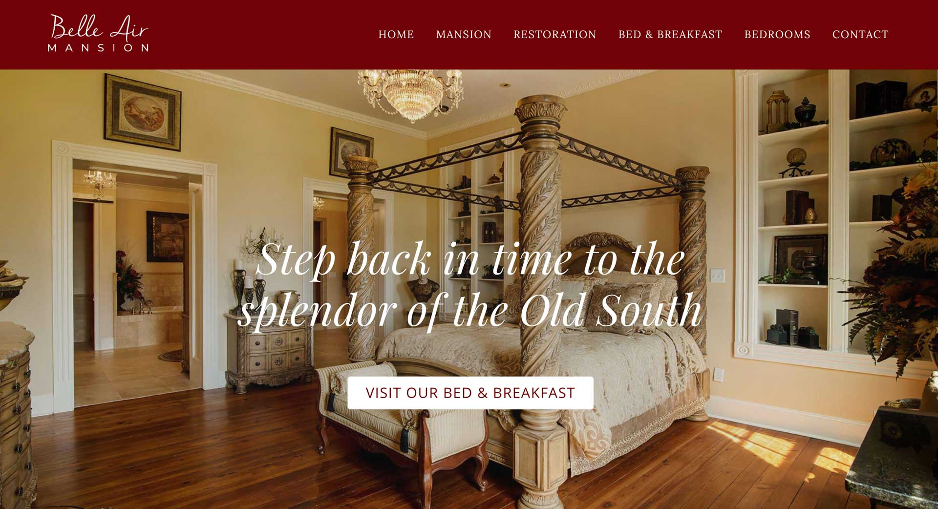 bed-and-breakfast-website-design
